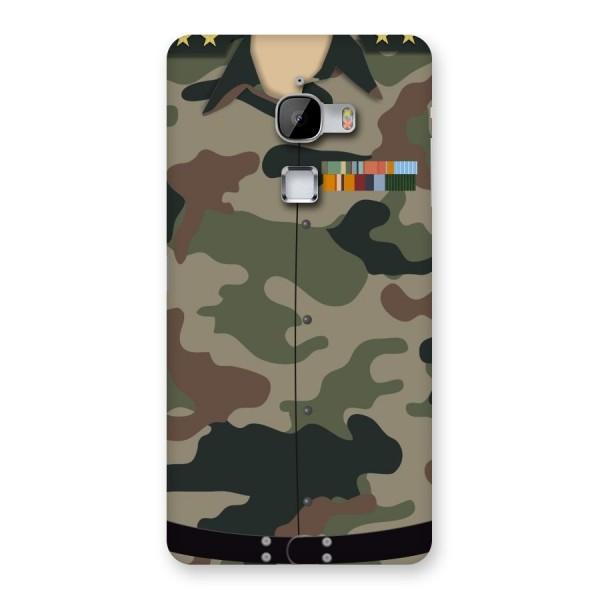 Army Uniform Back Case for LeTv Le Max