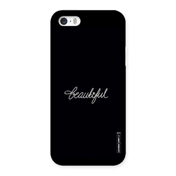 Classic Beautiful Back Case for iPhone 5 5S