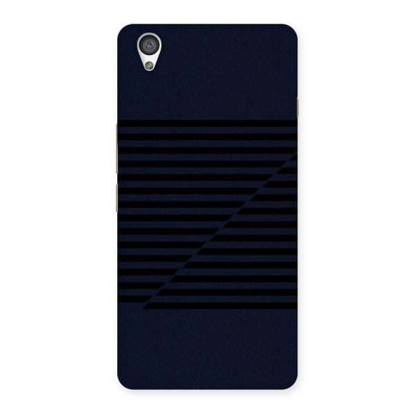 Classic Stripes Cut Back Case for OnePlus X