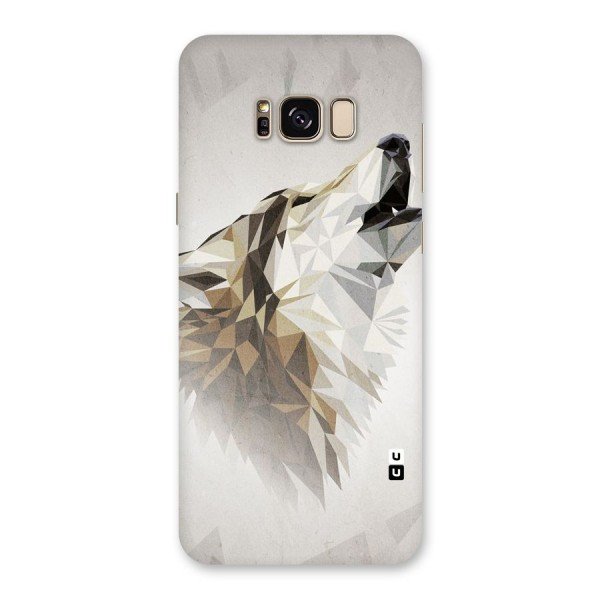 Diamond Wolf Back Case for Galaxy S8 Plus