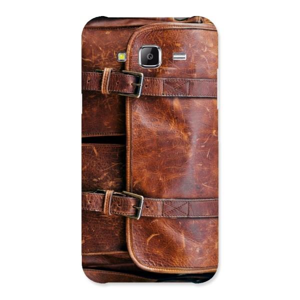 Bag Design (Printed) Back Case for Samsung Galaxy J5