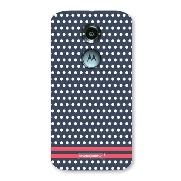 Polka Dots  Back Case for Moto X2