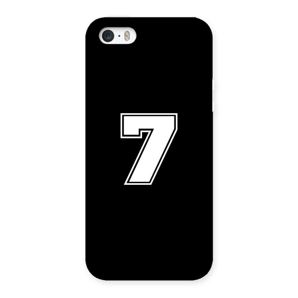 Number 7 Back Case for iPhone 5 5S