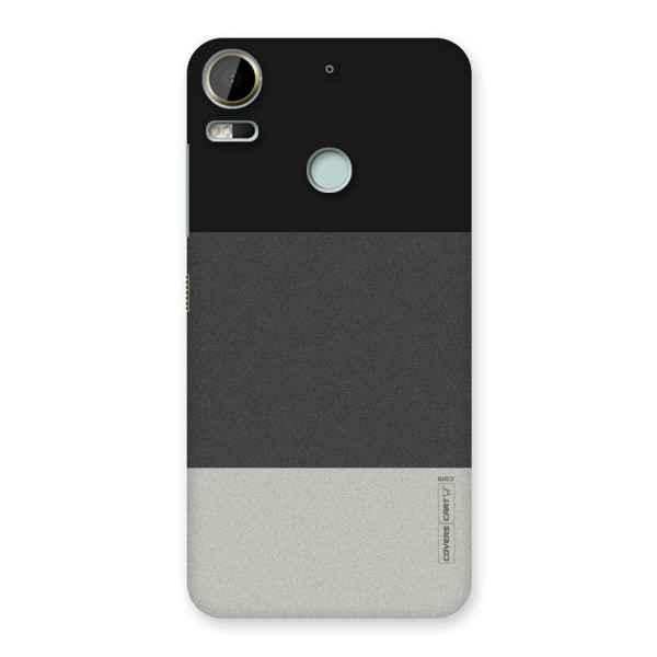 Pastel Black and Grey Back Case for Desire 10 Pro