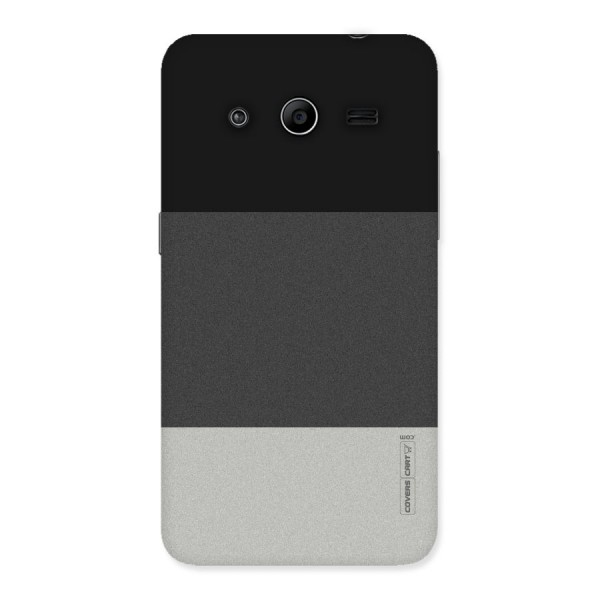 Pastel Black and Grey Back Case for Galaxy Core 2