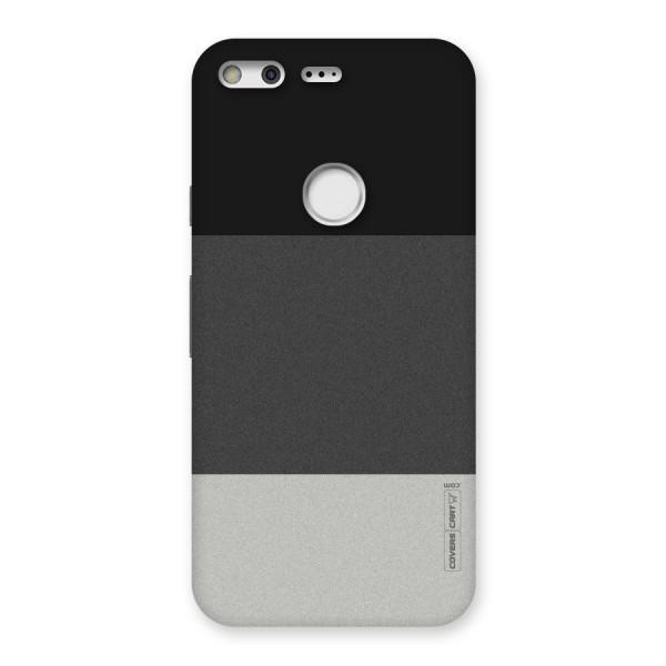 Pastel Black and Grey Back Case for Google Pixel XL