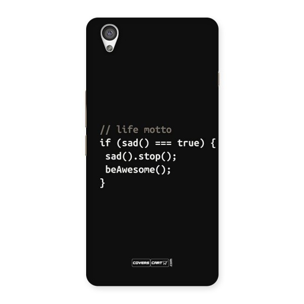 Programmers Life Back Case for OnePlus X
