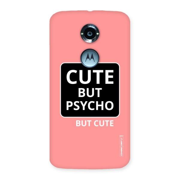 Psycho But Cute Back Case for Moto X 2nd Gen
