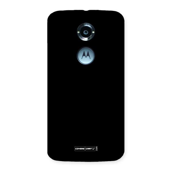 Simple Black Back Case for Moto X 2nd Gen