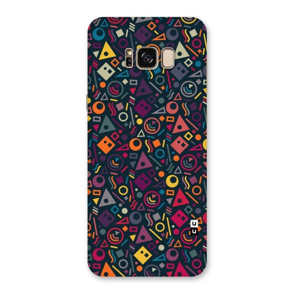 Abstract Figures Back Case for Galaxy S8 Plus