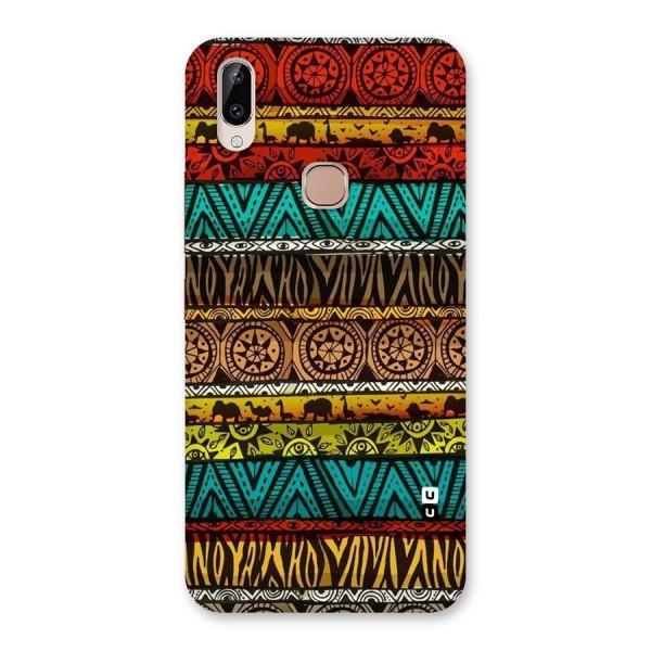 African Design Pattern Back Case for Vivo Y83 Pro