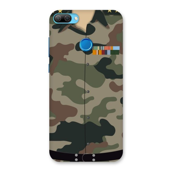 Army Uniform Back Case for Honor 9N