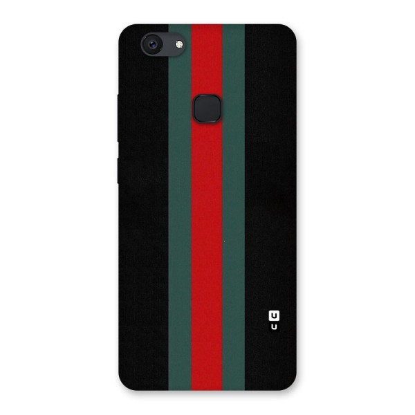 Basic Colored Stripes Back Case for Vivo V7 Plus