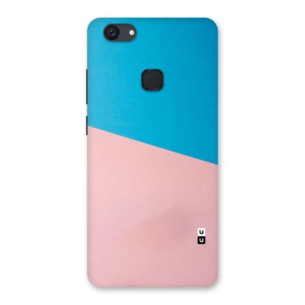 Bicolor Design Back Case for Vivo V7 Plus