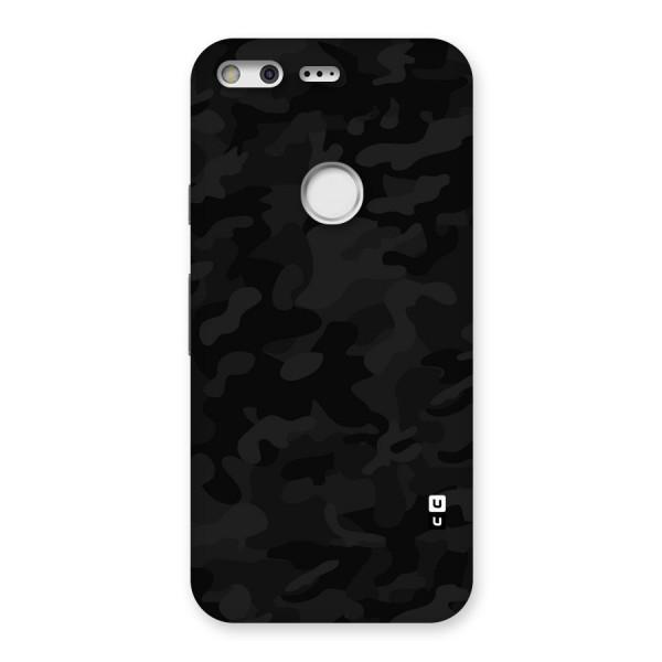 Black Camouflage Back Case for Google Pixel XL