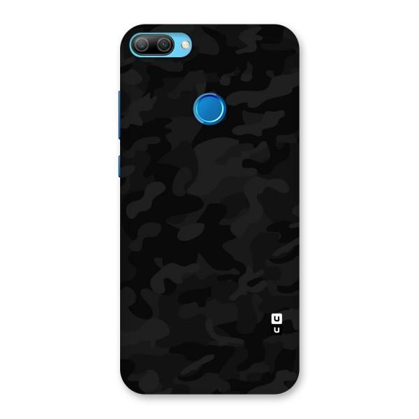Black Camouflage Back Case for Honor 9N