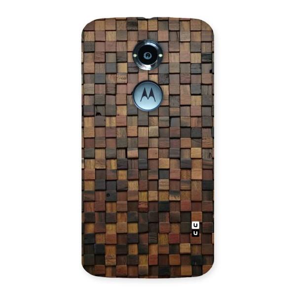 Blocks Of Wood Back Case for Moto X 2nd Gen