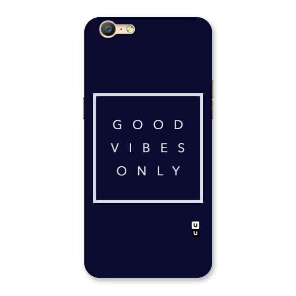 Blue White Vibes Back Case for Oppo A57