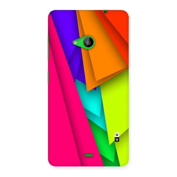 Bring In Colors Back Case for Lumia 535