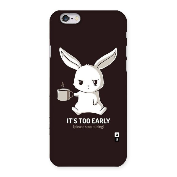 Bunny Early Back Case for iPhone 6 6S