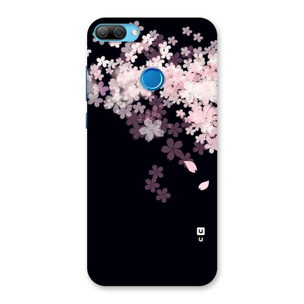Cherry Flowers Pink Back Case for Honor 9N