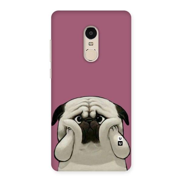 Chubby Doggo Back Case for Xiaomi Redmi Note 4
