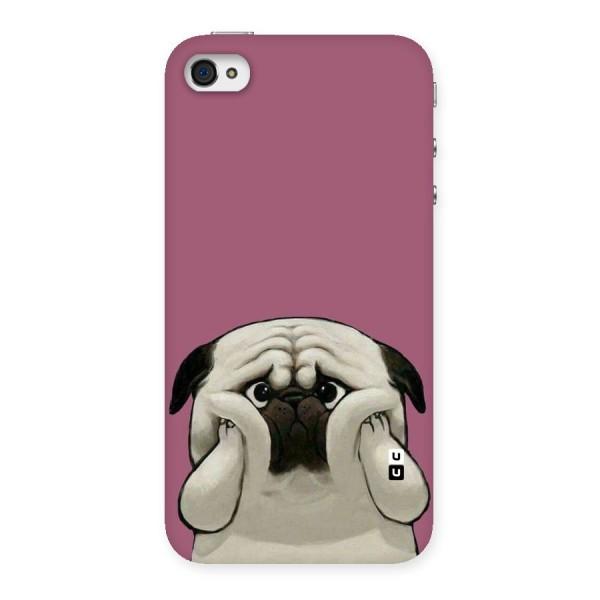 Chubby Doggo Back Case for iPhone 4 4s