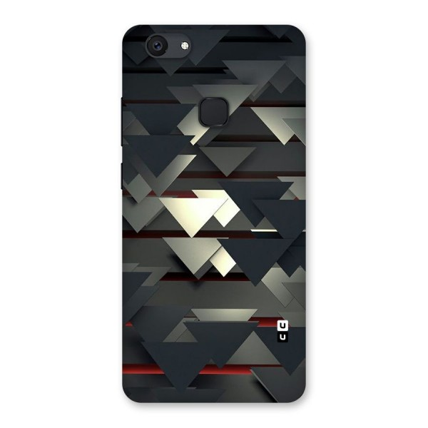 Classic Triangles Design Back Case for Vivo V7 Plus