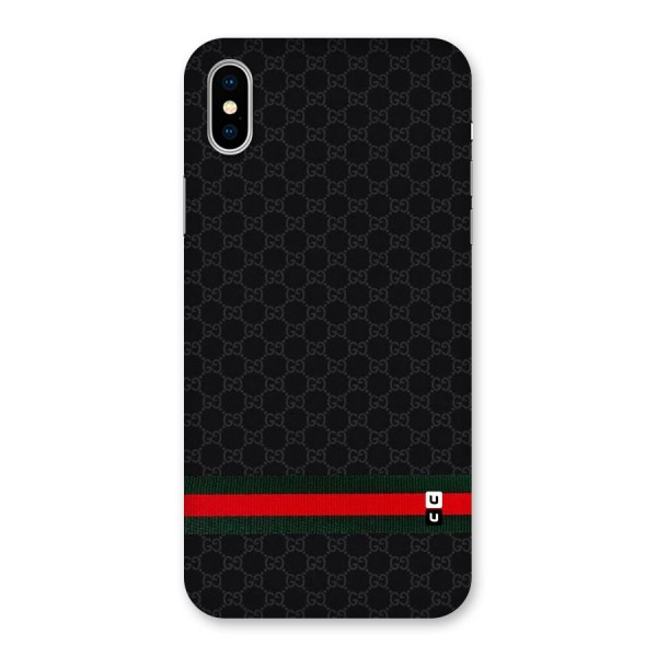 Classiest Of All Back Case for iPhone X