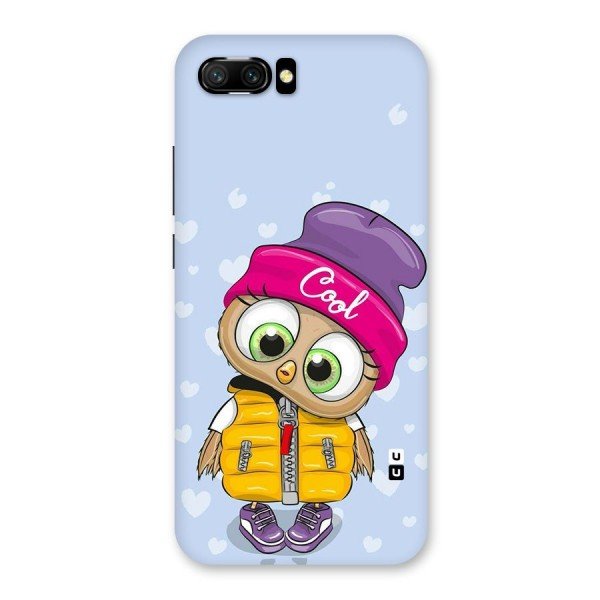 Cool Owl Back Case for Honor 10