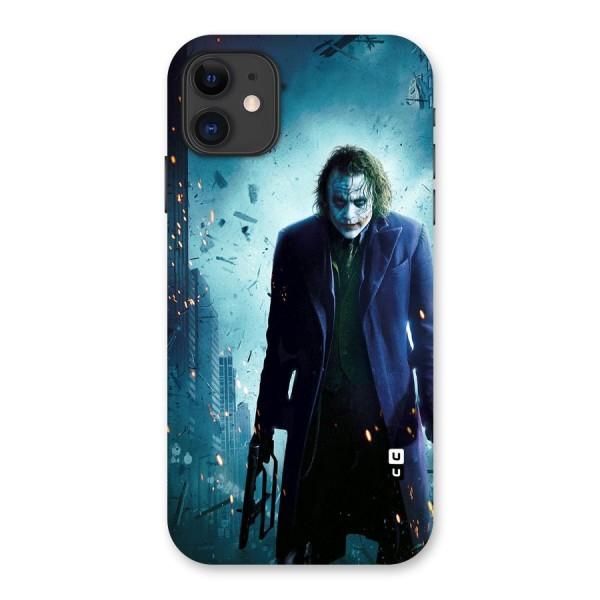 Dark Knight Joker Back Case for iPhone 11