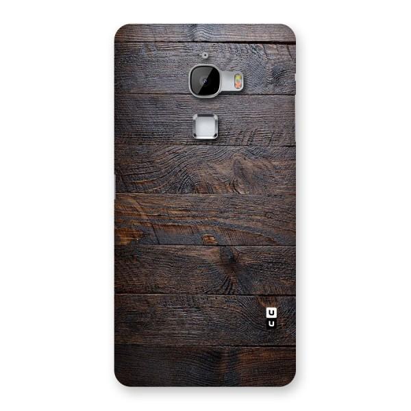 Dark Wood Printed Back Case for LeTv Le Max