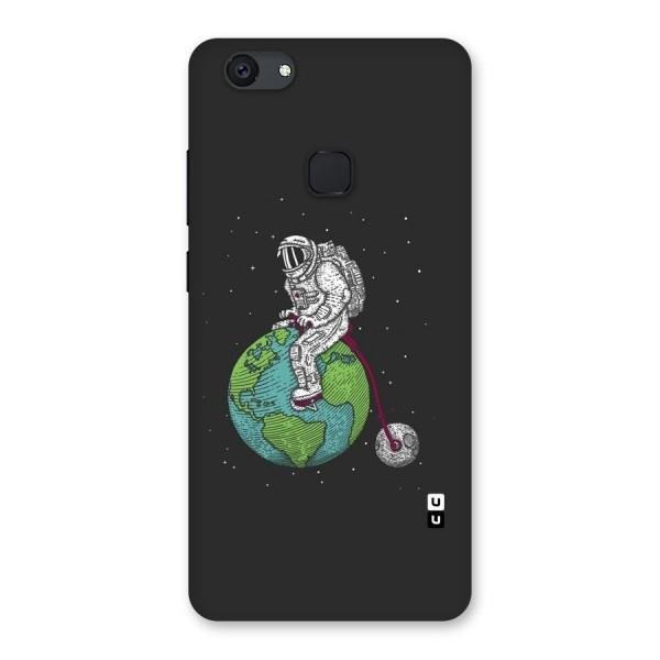 Earth Space Doodle Back Case for Vivo V7 Plus