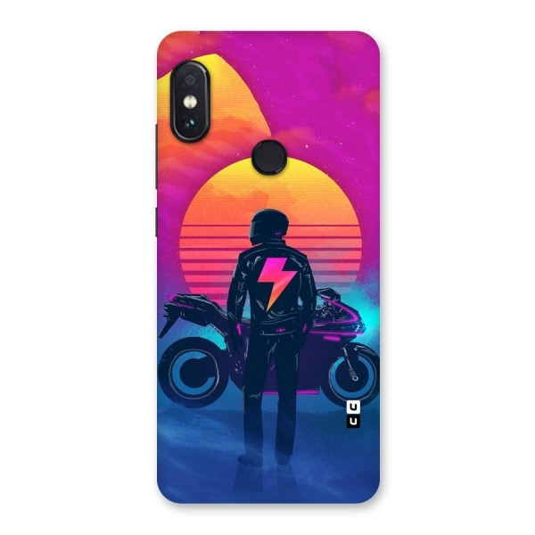 Electric Ride Back Case for Redmi Note 5 Pro