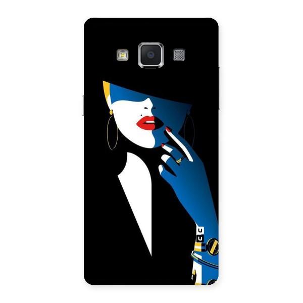 Elegant Woman Back Case for Samsung Galaxy A5