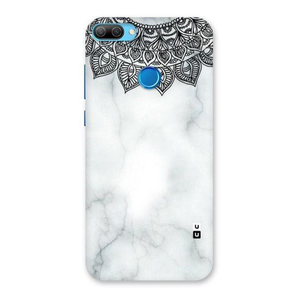 Exotic Marble Pattern Back Case for Honor 9N