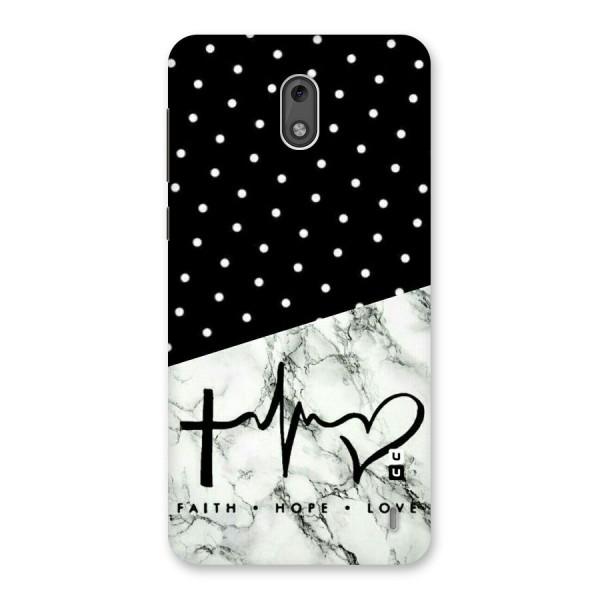 Faith Love Back Case for Nokia 2