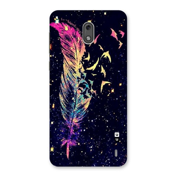 Feather Bird Fly Back Case for Nokia 2