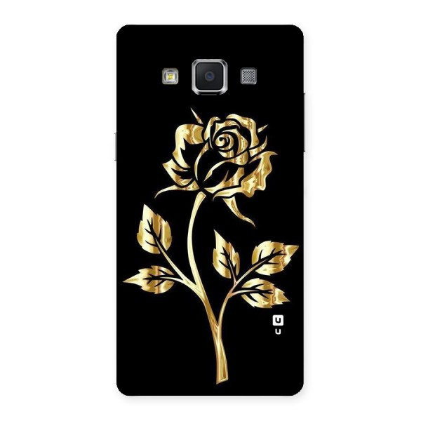 Gold Rose Back Case for Samsung Galaxy A5