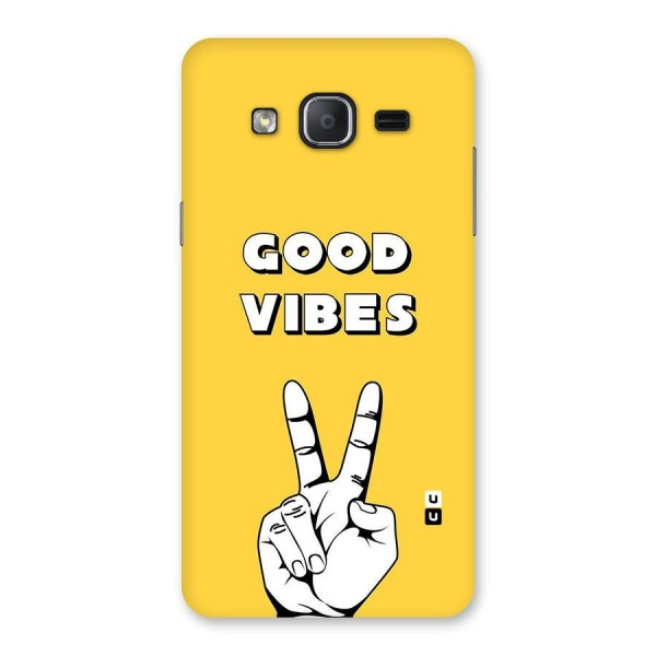 Good Vibes Victory Back Case for Galaxy On7 Pro