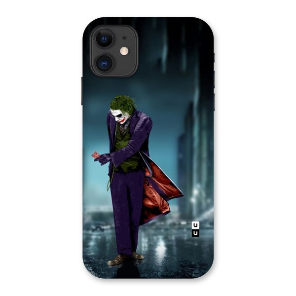 Joker in Style Back Case for iPhone 11
