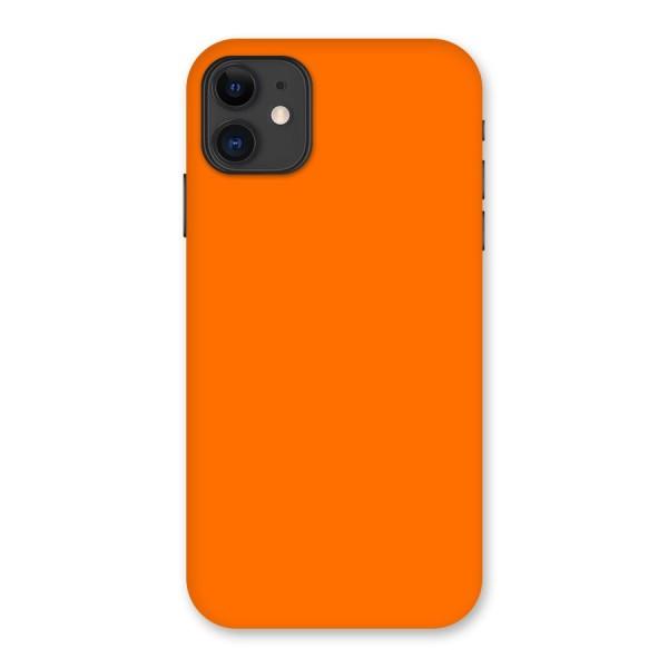 Mac Orange Back Case for iPhone 11
