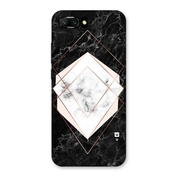 Marble Texture Print Back Case for Honor 10