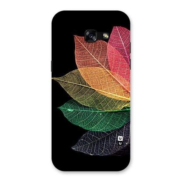 Net Leaf Color Design Back Case for Galaxy A5 2017