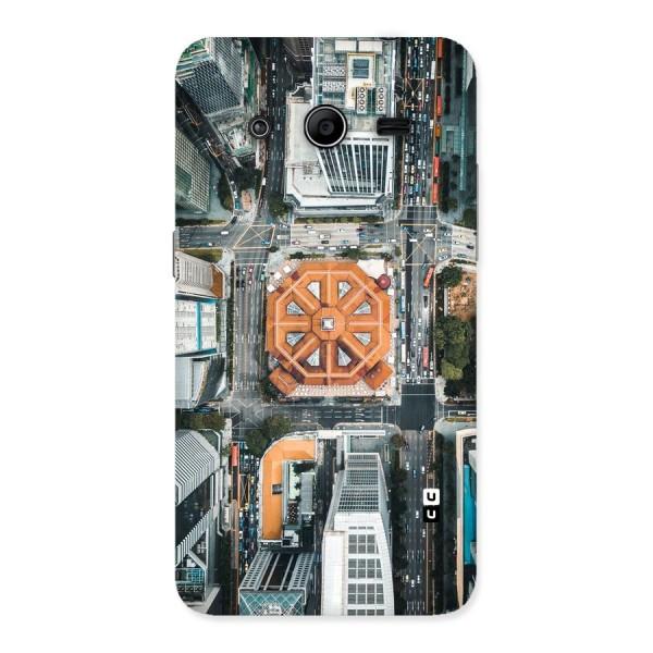 Orange Dome Back Case for Galaxy Core 2