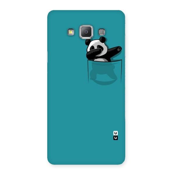 Panda Dabbing Away Back Case for Galaxy A7