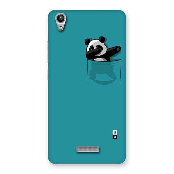 Panda Dabbing Away Back Case for Lava-Pixel-V1