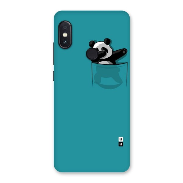 Panda Dabbing Away Back Case for Redmi Note 5 Pro