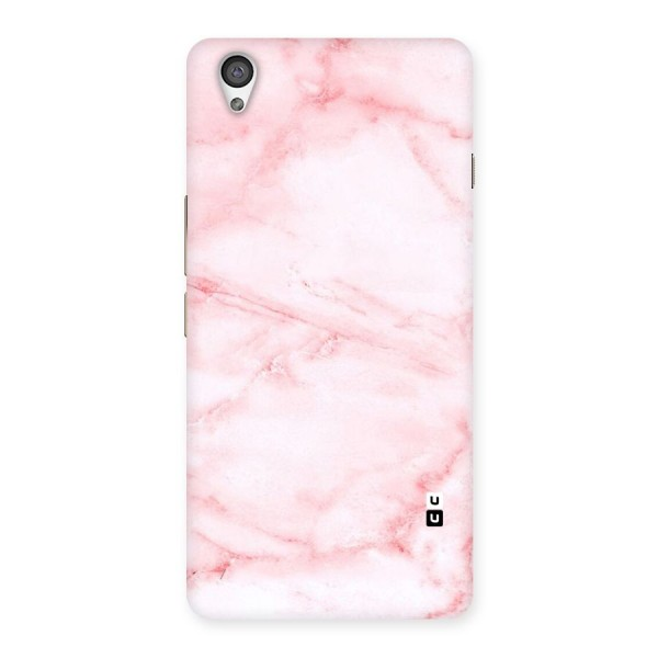 Pink Marble Print Back Case for OnePlus X