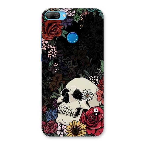 Pretty Skull Back Case for Honor 9N